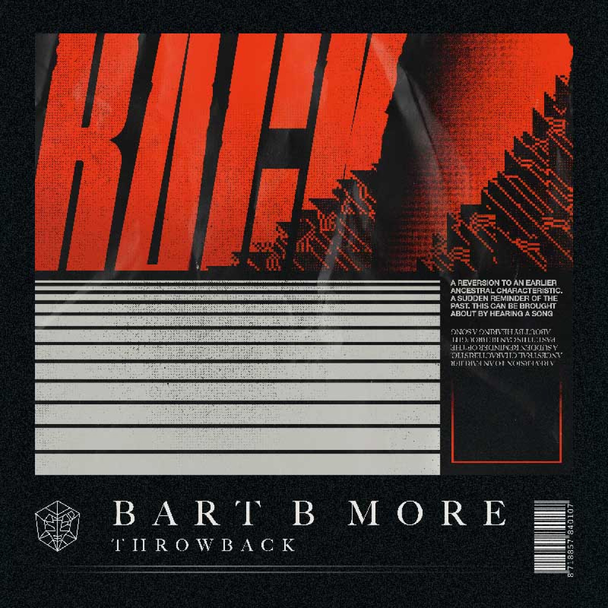 Cover Bart B More - Throwback