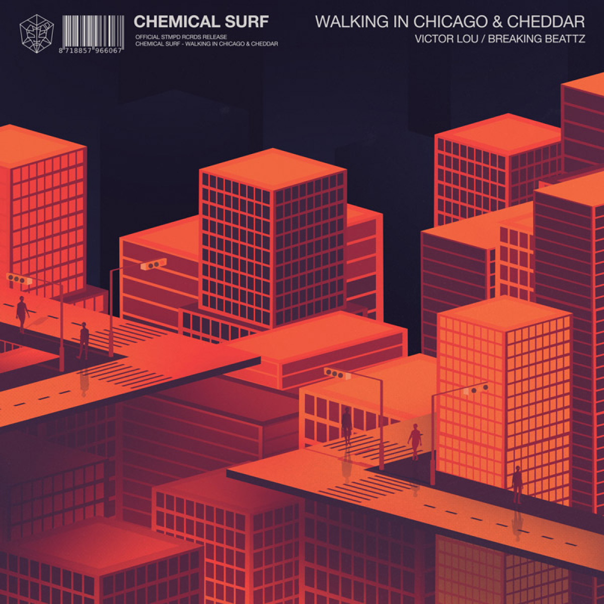 Cover Chemical Surf & Victor Lou - Walking In Chicago