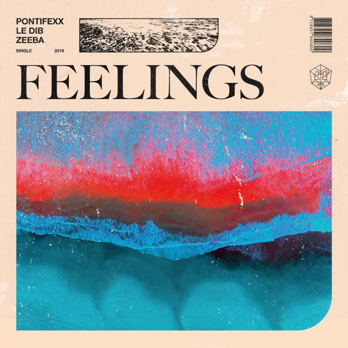 Cover Pontifexx, Le Dib, Zeeba - Feelings