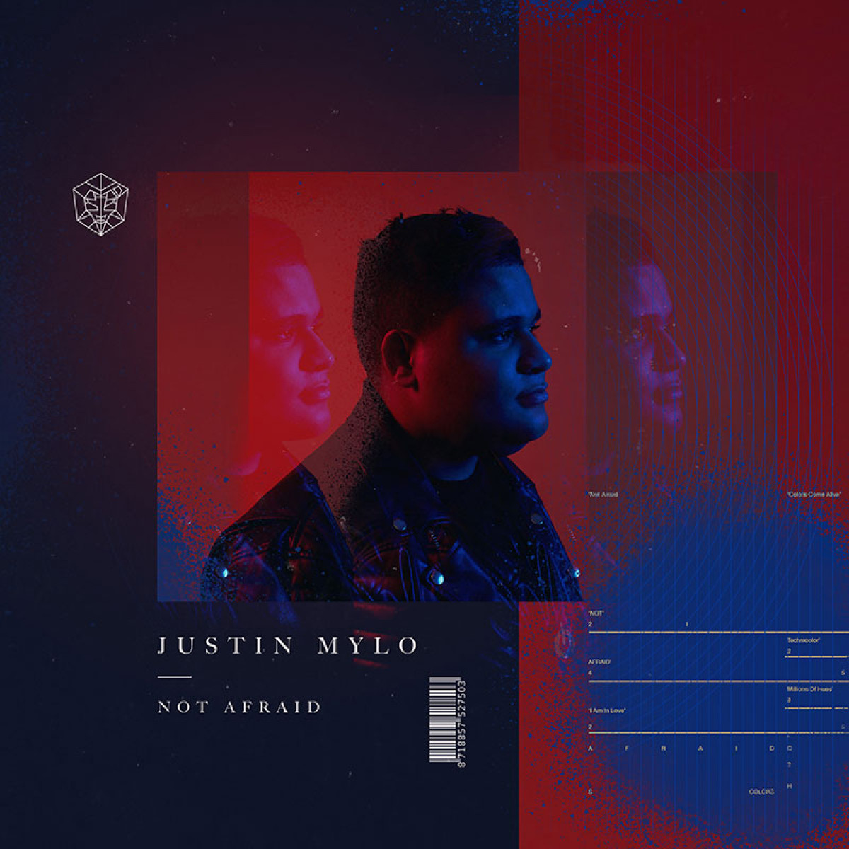 Cover Justin Mylo - Not Afraid