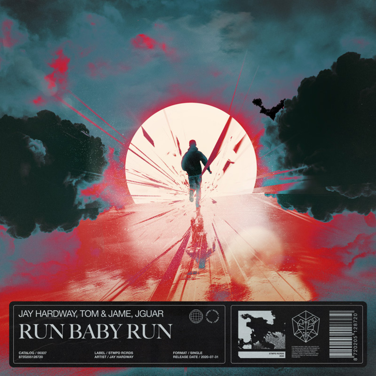 Cover Jay Hardway, Tom & Jame, JGUAR - Run Baby Run
