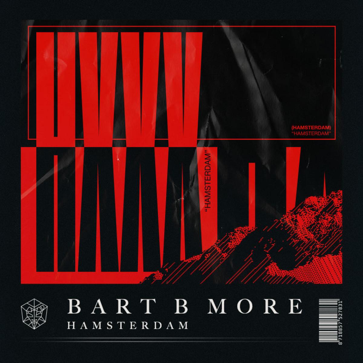 Cover Bart B More - Hamsterdam