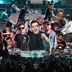 Cover TV Noise & Dillon Francis - Festival Bangers For When Festivals Start Again Because There Are No Festivals