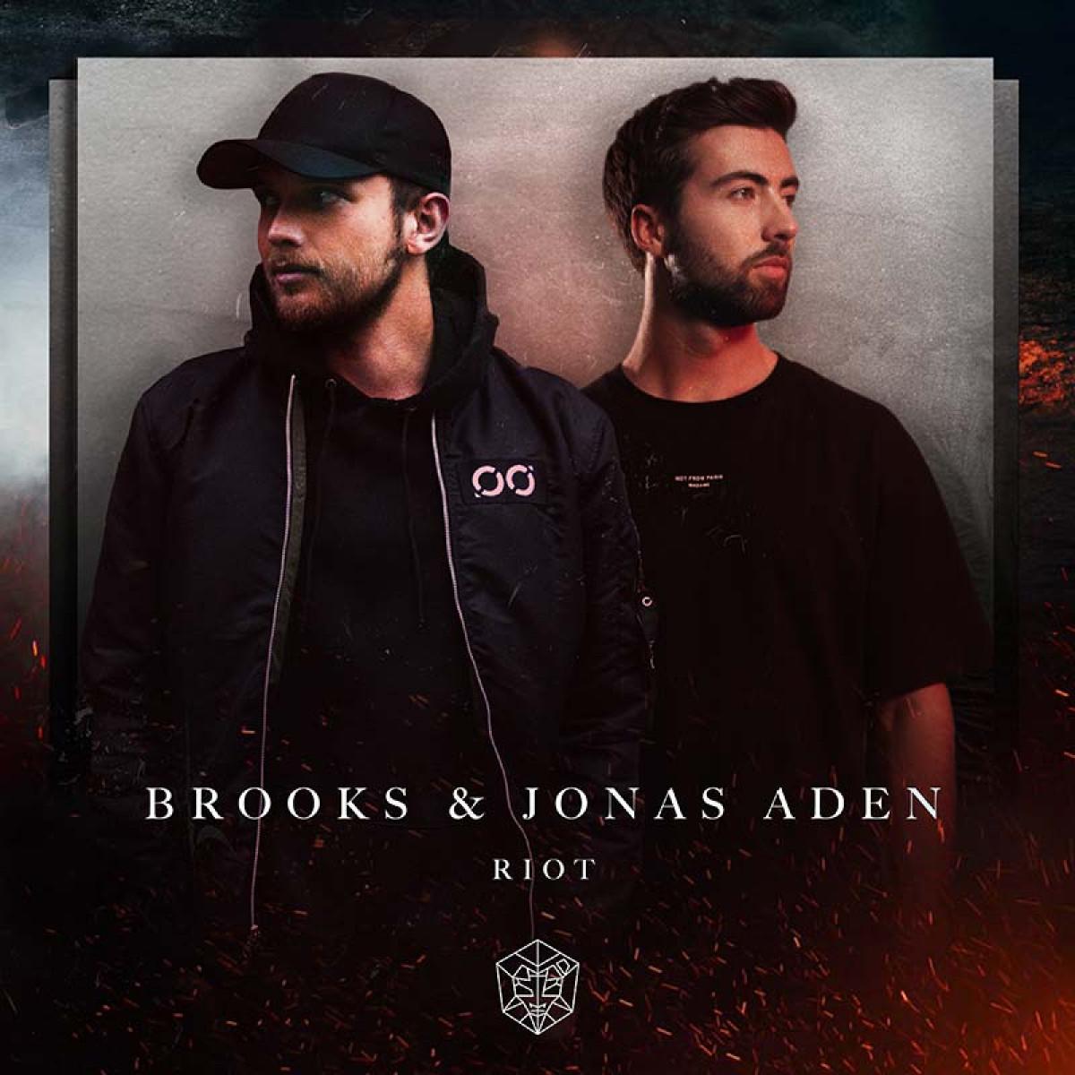 Cover Brooks & Jonas Aden - Riot