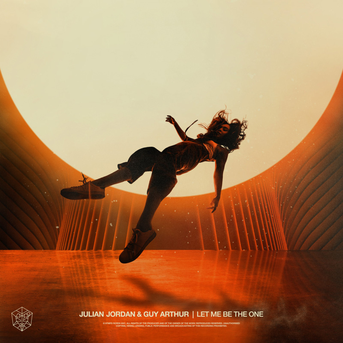 Cover Julian Jordan & Guy Arthur - Let Me Be The One
