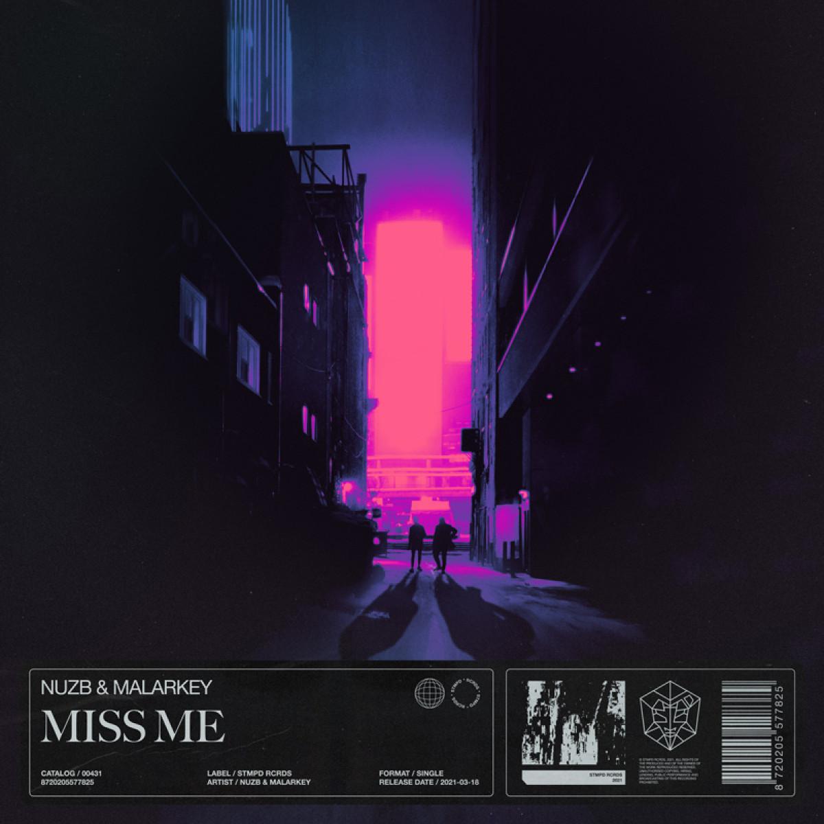 Cover NUZB & MALARKEY - Miss Me