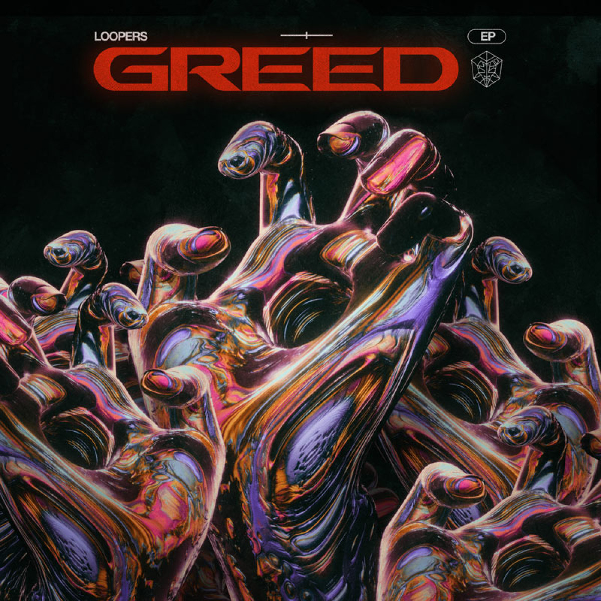 Cover LOOPERS - GREED (EP)