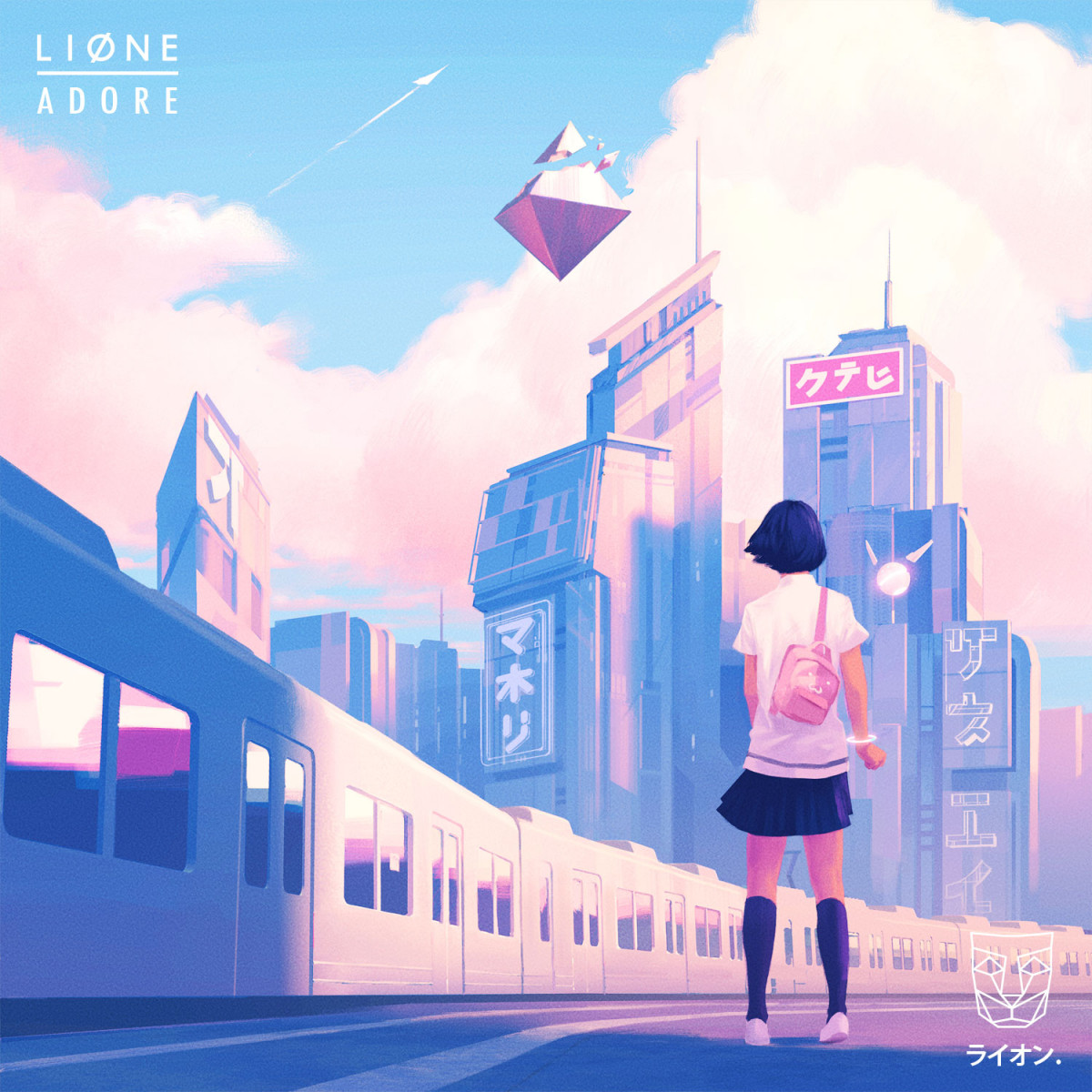 Cover LIONE - Adore