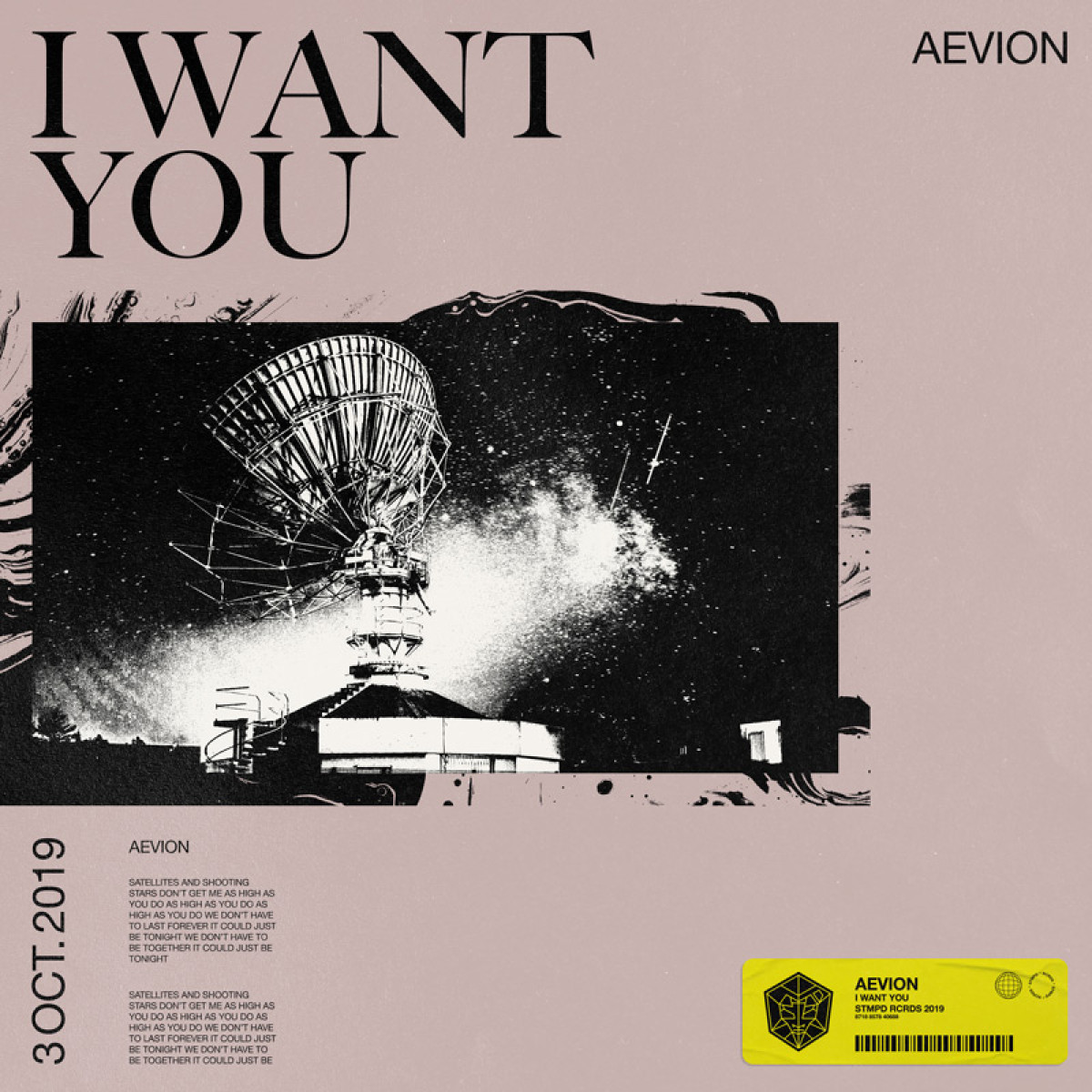 Cover Aevion - I Want You