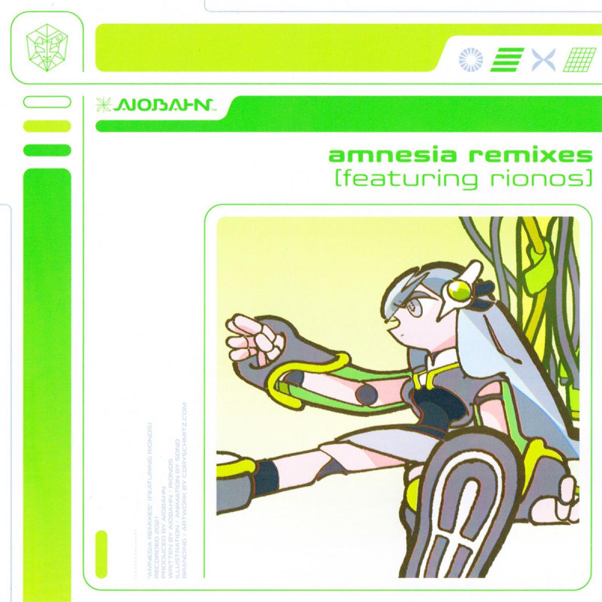 Cover Aiobahn - amnesia (feat. rionos) Remixes