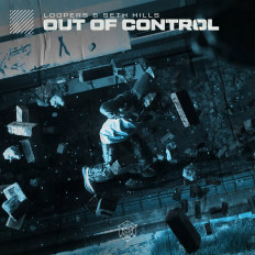 Cover LOOPERS & Seth Hills - Out Of Control