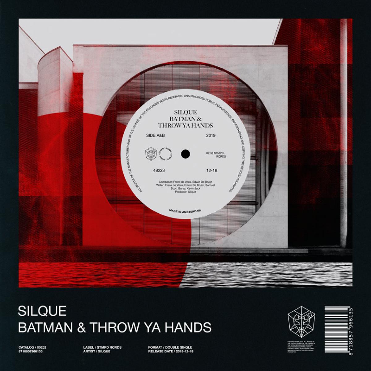Cover Silque - Batman & Throw Ya Hands