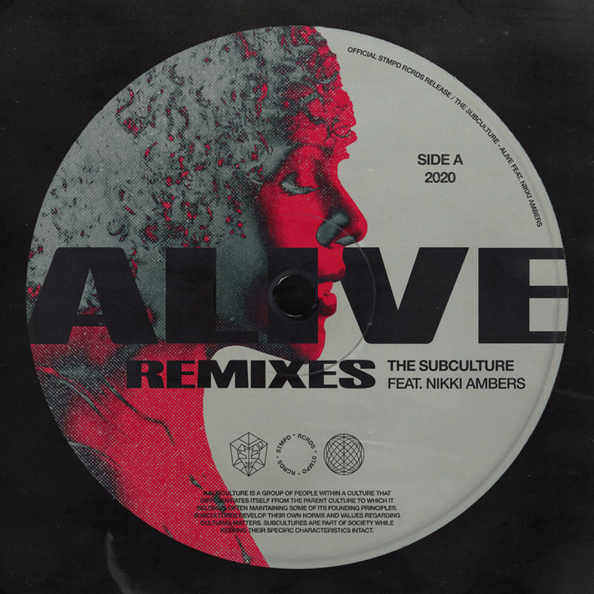Cover The Subculture & Nikki Ambers - Alive (Remixes)