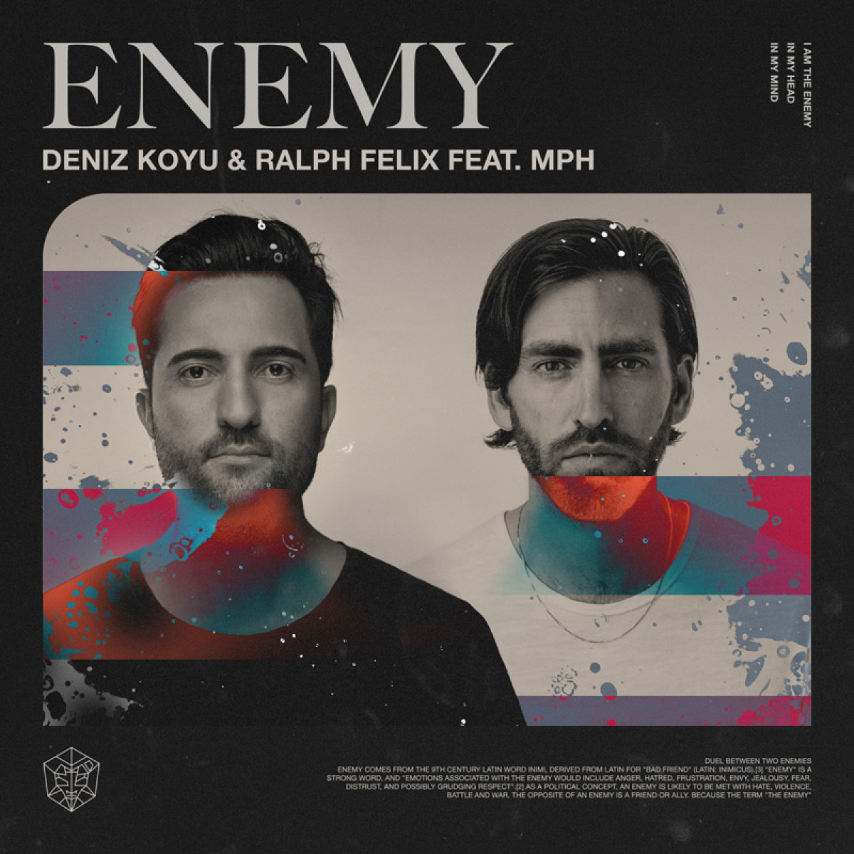 Cover Deniz Koyu & Ralph Felix - Enemy (feat. MPH)