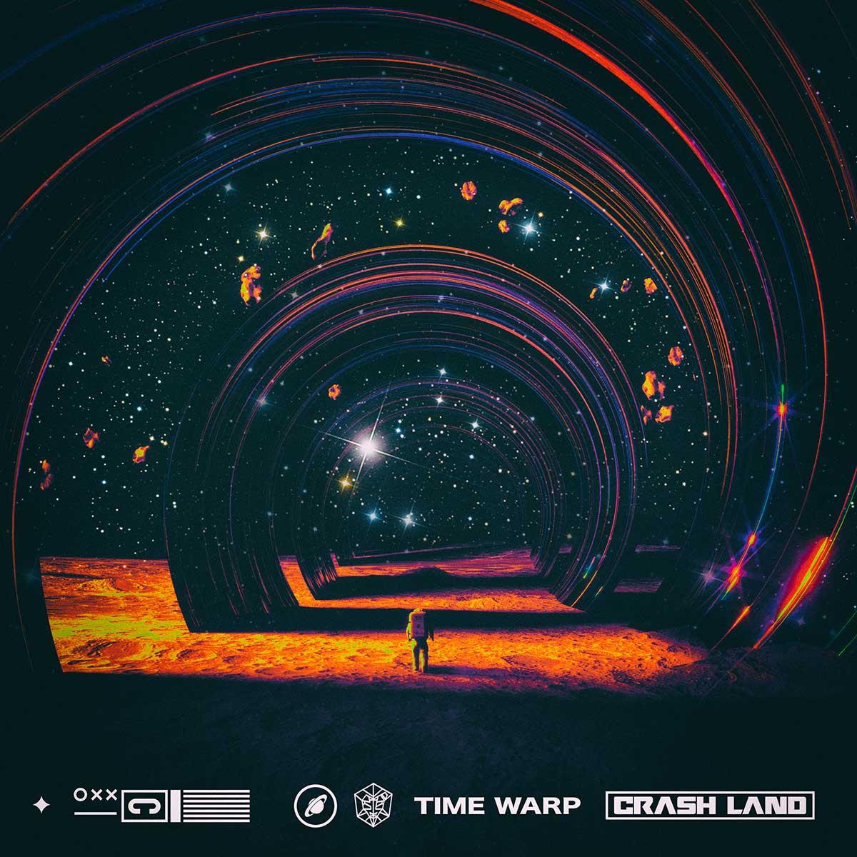 Cover Crash Land - Time Warp