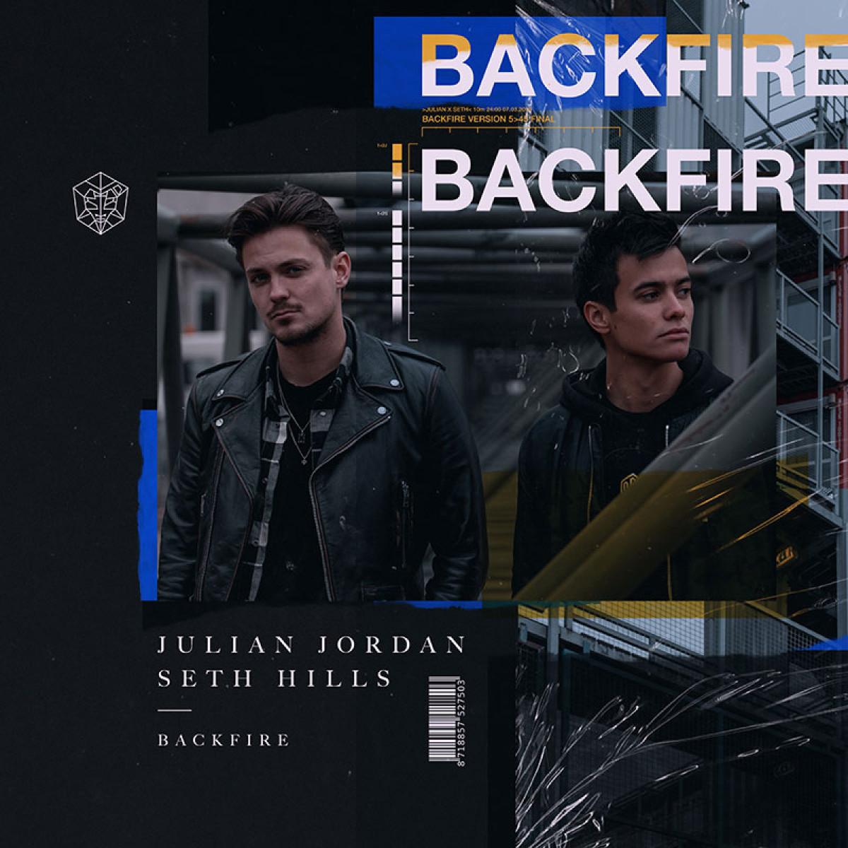 Cover Julian Jordan & Seth Hills - Backfire