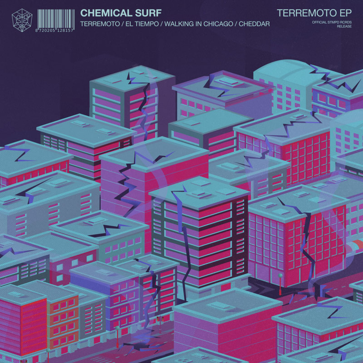 Cover Chemical Surf & Ghabe - Terremoto EP